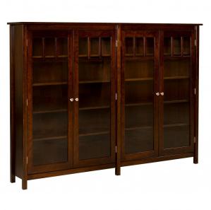 Marston House Double Amish Bookcase
