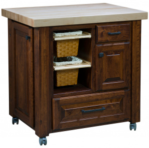 Swell Amish Kitchen Islands Amish Tables Racks Cabinfield Interior Design Ideas Pimpapslepicentreinfo
