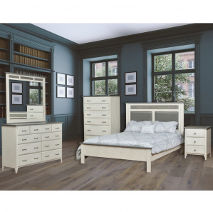Coastal Series Farmhouse Amish Bedroom Furniture Cabinfield Fine Furniture