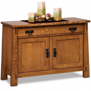 Mariposa Sofa Table Cabinet