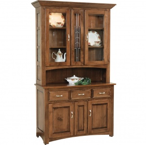 Whittier Buffet & Optional Hutch