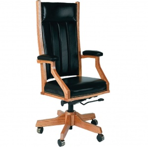 Mission Executive Amish Desk Chair