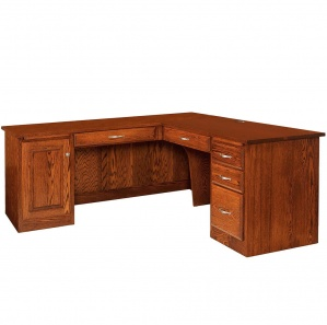 Hampton Executive Corner Amish Desk