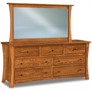 Matison 7 Drawer Dresser with Optional Mirror