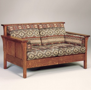Rutherford Panel Loveseat