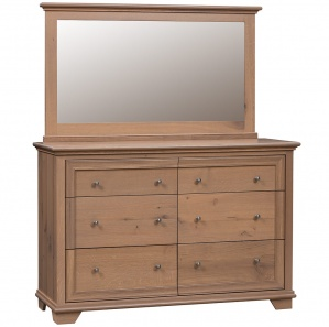 Pacific Heights Dresser & Optional Mirror