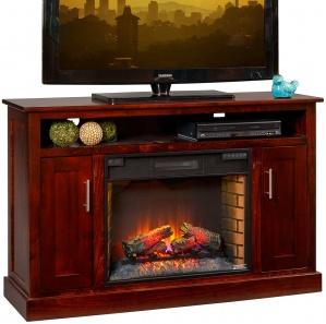 Ashland Avenue Fireplace TV Cabinet