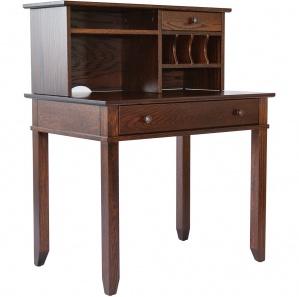"Craftsman 36""W Computer Desk & Optional Hutch"