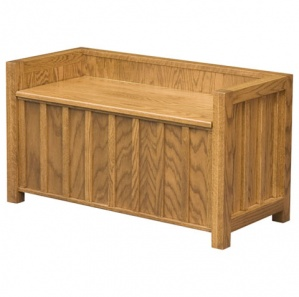 Mission Lift Lid Amish Bench