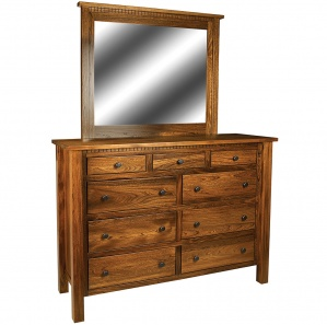 Birchman Amish Dresser with Mirror Option