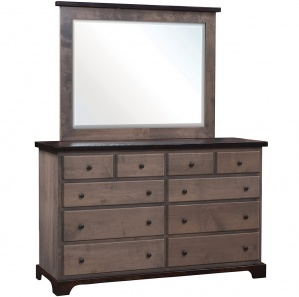 Manchester Tall Dresser with Optional Mirror