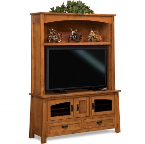 Mariposa TV Cabinet and Hutch