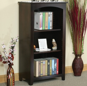 "Linden 24"" Adjustable Shelf Amish Bookcase"