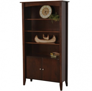 Horizons Amish Bookcase & Optional Doors