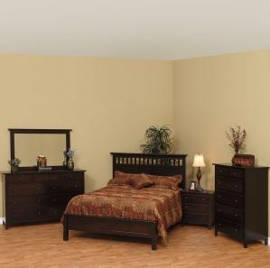Vintage Amish Bedroom Furniture Set