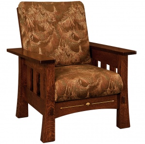 Mesa Wood Inlaid Chair