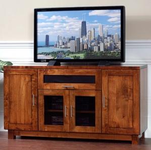 Urban TV Console with Flip Up Door