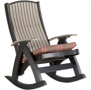 Comfort Poly Amish Outdoor Rocking Chair (set of 2)