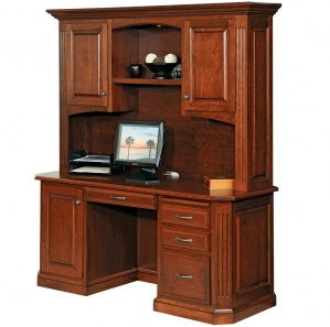 Buckingham Credenza with Optional Hutch