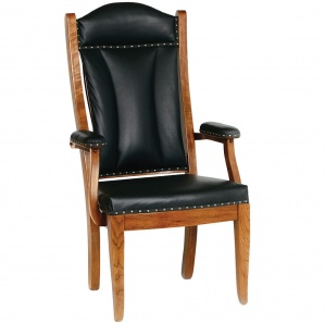 Edelweiss Amish Client Chair