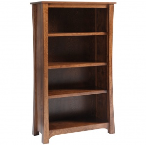 "Woodbury 36""W Adjustable Shelf Bookcase"