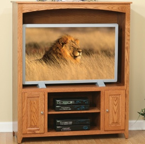 Linden Raised Panel Entertainment Center