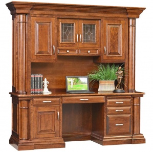 Paris Credenza with Optional Hutch