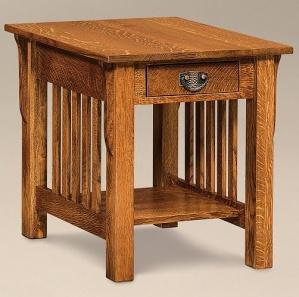 Avery Slat Amish End Table