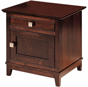 Venice Amish End Table Cabinet