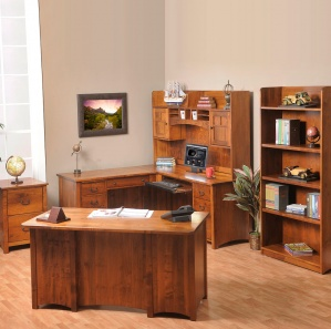 Rivertowne Deluxe Amish Office Furniture Set
