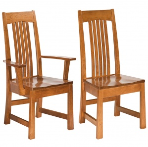 Armani Amish Dining Chairs