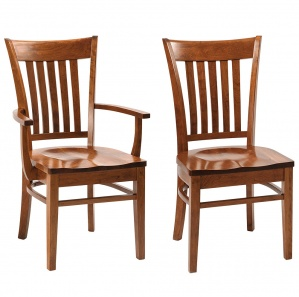 Hanson Square Amish Dining Chairs