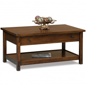 Centennial Coffee Table with Optional Lift Top