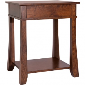 Craftsman Corner or Stand Alone Table & Optional Flared Legs