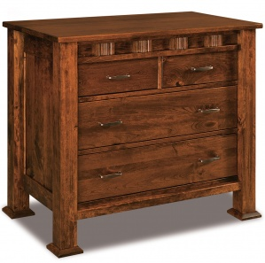 Sequoyah 4 Drawer Amish Child's Chest of Drawers