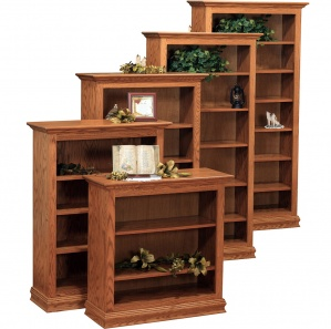 Traditional Bookcase with Optional Doors