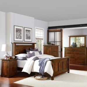 Encada Amish Bedroom Set