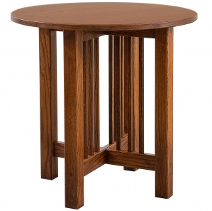 Carmichael Round Amish End Table