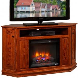 Westbrook Fireplace Corner TV Cabinet