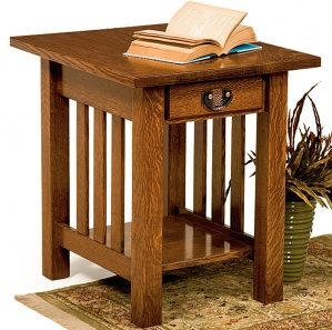 San Rafael Amish End Table