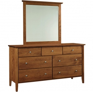 Medina Amish Dresser with Mirror Option