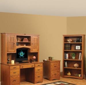 Prairie Mission Amish Office Furniture Set