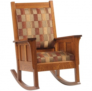 Modesto Amish Rocking Chair
