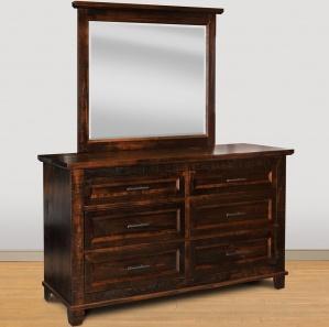 Algonquin Amish Dresser & Optional Mirror