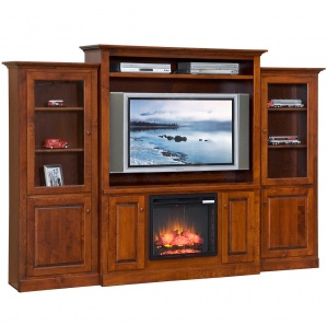 Beringer Fireplace Entertainment Center