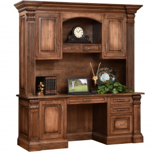 Montereau Amish Desk with Hutch Option