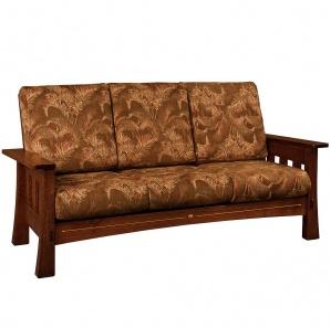 Mesa Wood Inlaid Sofa