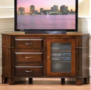 Arlington Heights Corner TV Consoles with Drawers