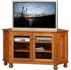 Whitney Corner Amish TV Cabinet
