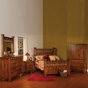 Sequoyah Amish Bedroom Furniture Set